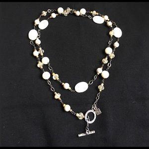 """Silpada 36"""" Necklace ~ .925 Silver"""